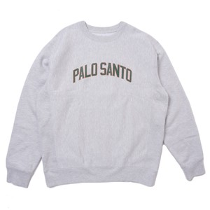 En Plein Air PALO SANTO CREW NECK SWEATER(HEATHER)