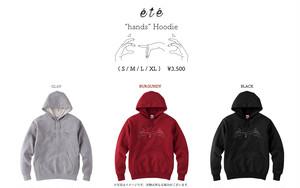 """""""hand's hoodie"""" パーカー"""