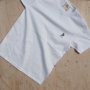 アートTシャツ「Walker」ホワイト