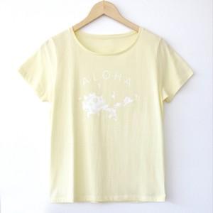 オオシマアロハTシャツ/シャーベットレモン