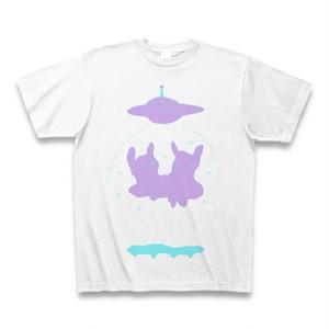Tシャツ「うさぎ、未知との遭遇」