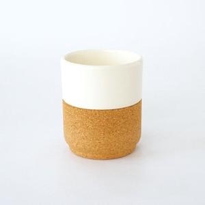 Alma Gemea TeaCup pearlwhite 180ml ティーカップ 陶器 コルク コラボレーション ポルトガル 北欧