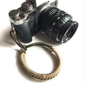 コピー:カメラストラップ パラコード Paracord Fishtail Camera Wrist Strap