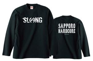 S.C.H.C LOGO : 2【LONG SLEEVE : 黒ボディ】