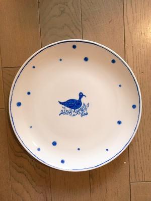 blue+Kyohei Sakaguchi 鳥の皿