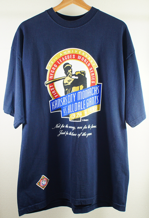 first negro leaues world series 75th anniversary tee