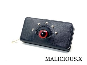 devil eye smartphone & coin case / red