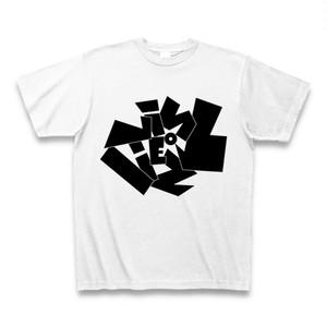 Vinyliez (バイナリーズ) ロゴTシャツ <カラー:ホワイト、サイズ:S~XL>