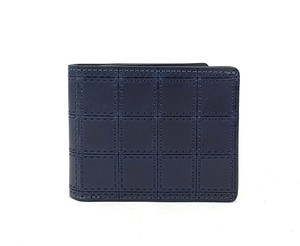 RE.ACT Stitch Indigo Billfold Wallet