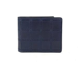 RE.ACT Stitch Indigo Billfold Wallet