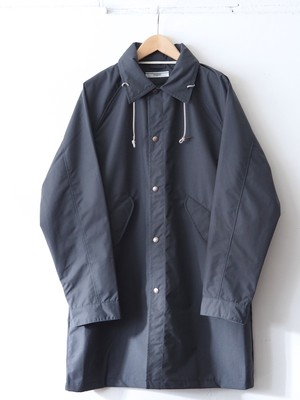 FUJITO Hood Coat Charcoal,Navy