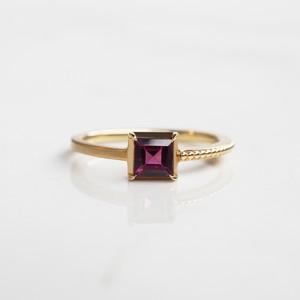 Rhodolite Garnet Ring(R248-RG)