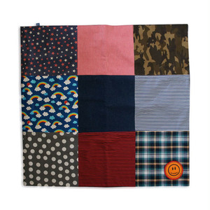Patchwork & Denim Multi Mat