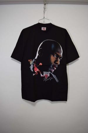 【Mサイズ寸】 TEAM RATED JORDAN FACE PRINT Tee BLACK チームレイトッド マイケル・ジョーダン Tシャツ 243301190336