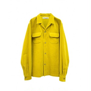 TTT MSW CORDUROY SHIRT YELLOW