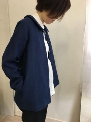 momo 丸襟ジャケット