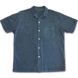 Good On グッドオン SS OPEN TEE SHIRTS オープンシャツ P-SLATE スレート 開襟シャツ カットソー COTTONUSA FabricMadeinUSA MadeinJAPAN GOST1605