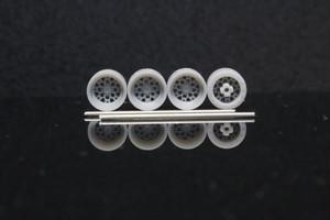 7mm 弥生 タイプ 3Dプリント ホイール 1/64 未塗装