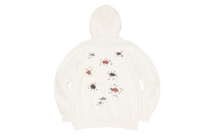 WHIMSY / CRACK THE WORLD HOODIE -WHITE-