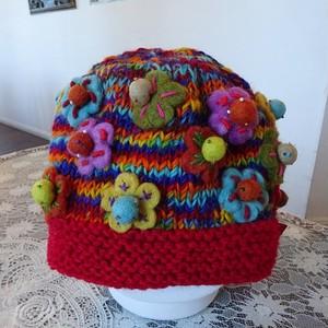 ウールニット帽子