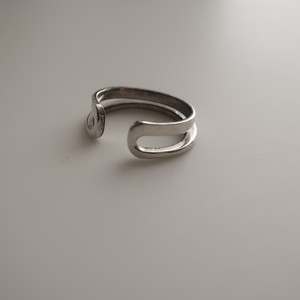 Double line - Ring  #Silver925