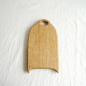 カッティングボード 小 (ナラの木) エゴマ油仕上げ (23.5×13.5)