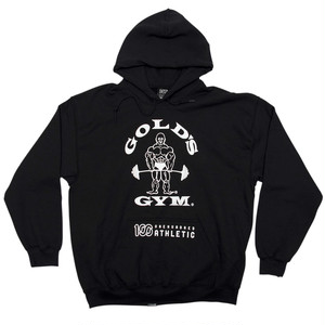 GOLD'S GYM x 100A HOODED SWEAT