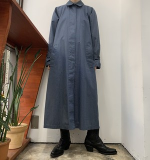 LONDON FOG graph check soutien collar coat 【8】