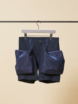 TROVE x 岡部文彦 / BIG POCKET SHORTS Ver:9 ( TYPE ACTIVE-4WAY STRETCH ) / NAVY