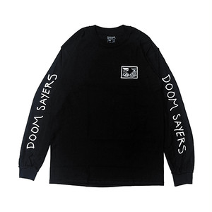 DOOM SAYERS - INSIDE OUT SNAKE SHAKE L/S TEE (Black)