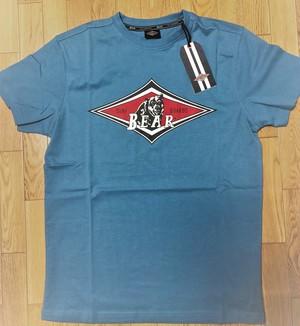 ベアー・サーフボード ジャストロゴ Tシャツ S サイズ 【Light Blue】