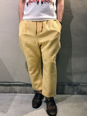 EASY JODHPURS JACQUARD Drost pants (YELLOW)