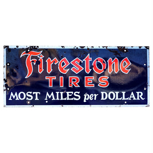 Firestone Sign 30's