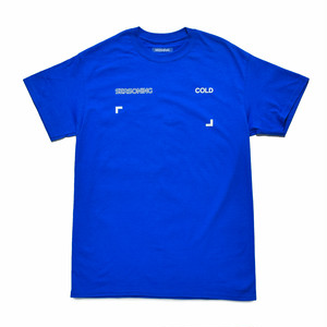 SEASONING COLOR S/S TEE  - BLUE