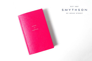 "【Sold Out】<スマイソン|SMYTHSON>パナマノート ""MAKE IT HAPPEN"" PANAMA