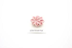 有田焼ブローチ  flower ④