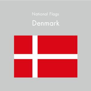 国旗ステッカー デンマーク