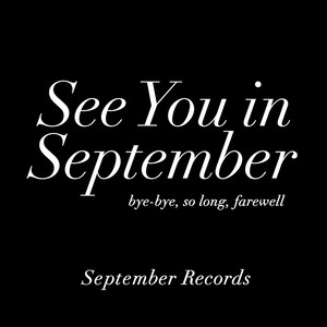 【通販特典】See You in September