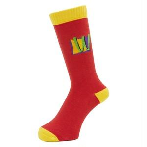 WHIMSY / POISON SOCKS -RED-