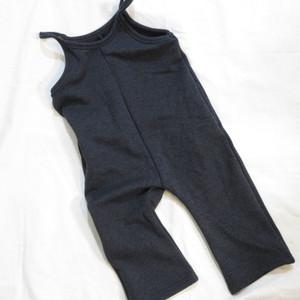 韓国子供服☆90~120㎝ 暖かミンク起毛サロペット