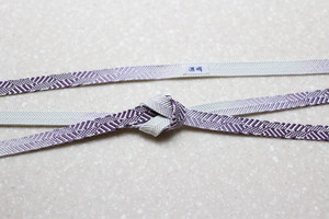 笹浪組 つづれ錦 紫