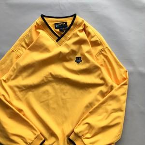 エブテック 90s ゴルフ イエロー ウィンドブレイカー