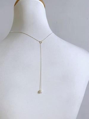 KAORU Back Pearl  Necklace