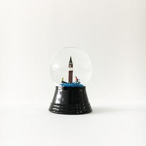 ベニスの大鐘楼 スノードーム PERZY社 S