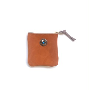 travel mini purse -terracotta-