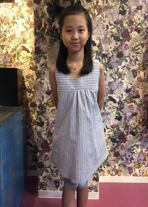 Stripe Mini Dress(Girl)