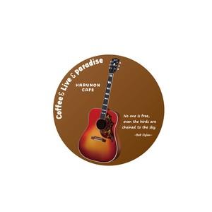 ギター 缶バッヂ 4種類