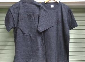 """IND"" T-shirt(ヘザーブラック)"