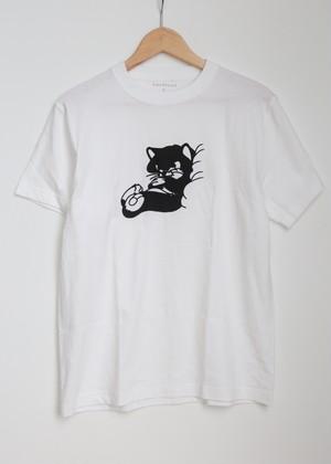 """idetatsuhiro """"GOOD NIGHT T-shirt""""[white]"""