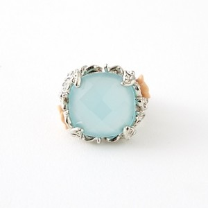 指輪 / Blue Green Ring from France